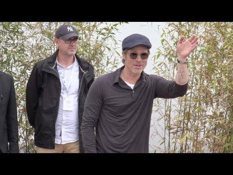 Brad Pitt Leonardo DiCaprio Margot Robbie Quentin Tarantino and more in Cannes