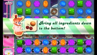 Candy Crush Saga Level 1235 walkthrough (no boosters)