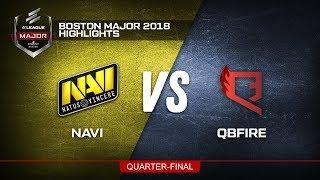 [QUARTER-FINAL] NAVI VS QBFIRE » BOSTON MAJOR 2018 HIGHLIGHTS!