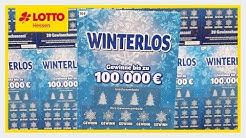 Rubbelkönig präsentiert: 10€ Winterlos von LOTTO Hessen ❄️