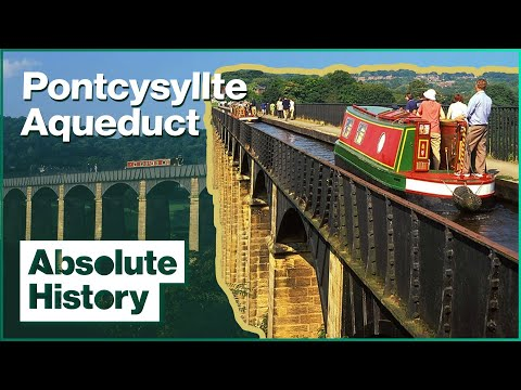 The Incredible Aqueduct That Carries A Canal | Britain's Best Canal Journeys | Absolute History