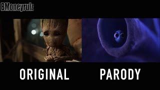Disney/Pixar's 'Guardians Of The Galaxy Vol. 2' Side-By-Side w/ Trailer #3