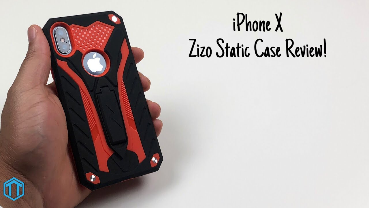 newest ce4d9 476d0 iPhone X Zizo Static Case Review!