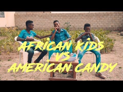 Eritrean Kids Try American Candy First Time