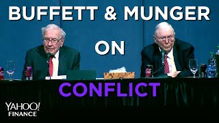 Buffett: Charlie (Munger) and I have never had an argument