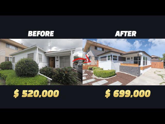미국 부동산  단독주택 플리핑  Complete Single family home flip in Los Angeles