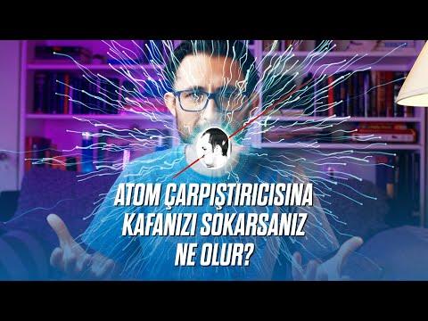 Atom çarpıştırıcısına kafanızı