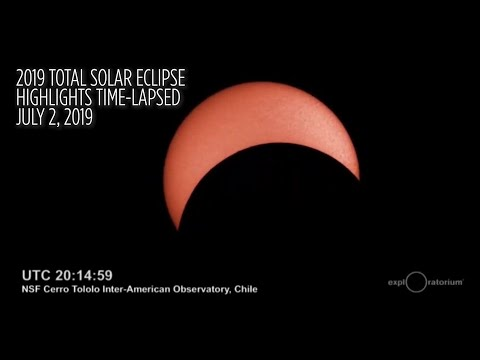 2019 Total Solar Eclipse Highlights In 1-Minute Time-Lapse
