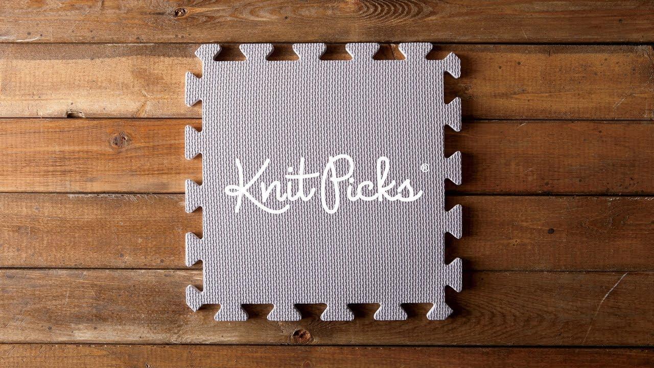 Knit Picks Blocking Mats Demo Youtube