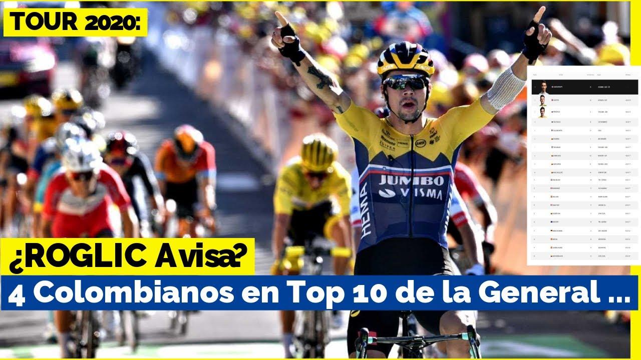 CiCLiSMO Hoy ? TOUR de FRANCIA 2020, Etapa 4, CLASIFICACION, Resultados...