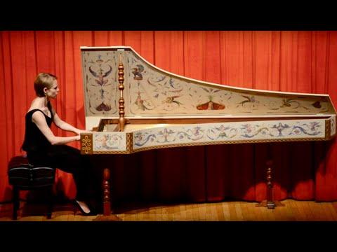 Scarlatti: Sonata in C Major L.104 - K. 159; Magdalena Baczewska, harpsichord