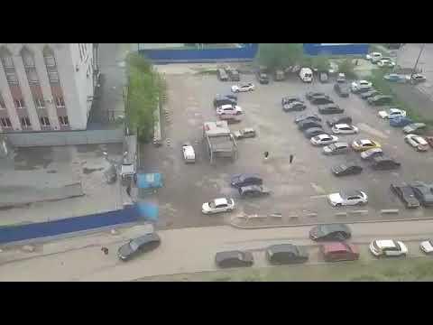 Перестрелка в ЖК Ясный 11 стрельба польба убегают