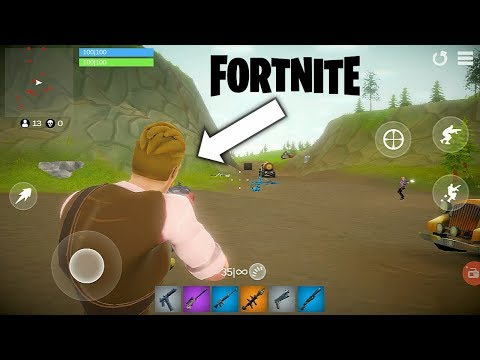 Practice Fortnite For Android | 70MB Free