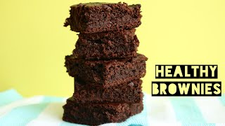 Healthy Dairy Free Brownie Recipe | How To Make Low Calorie, Low Fat, Low Carb Brownies