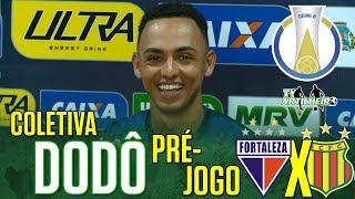 [Série B '18] Coletiva Dodô | Pré-jogo Fortaleza EC X Sampaio Corrêa FC | TV ARTILHEIRO