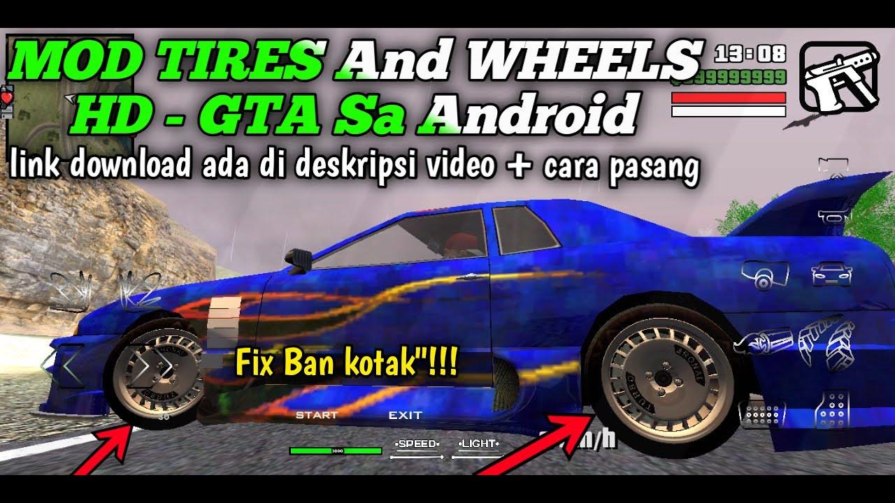 1010+ Mod Velg Mobil Gta Sa Android Terbaru