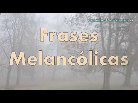 Frases Melancólicas