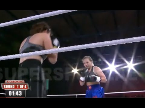 Cheyenne Hanson vs. Branka Aramsic - Female Boxing Fight
