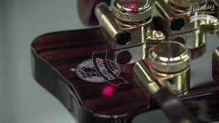 Framus Custom Shop Masterbuilt - Making of Diablo 7 String Rainbow Finish