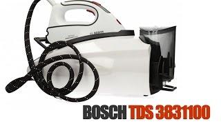 Парогенератор Bosch TDS 3831100 обзор и распаковка  Steam generator Bosch TDS 3831100 review