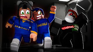 CUIDADO COM O MONSTRO NO ROBLOX GUESTY - Brancoala Games