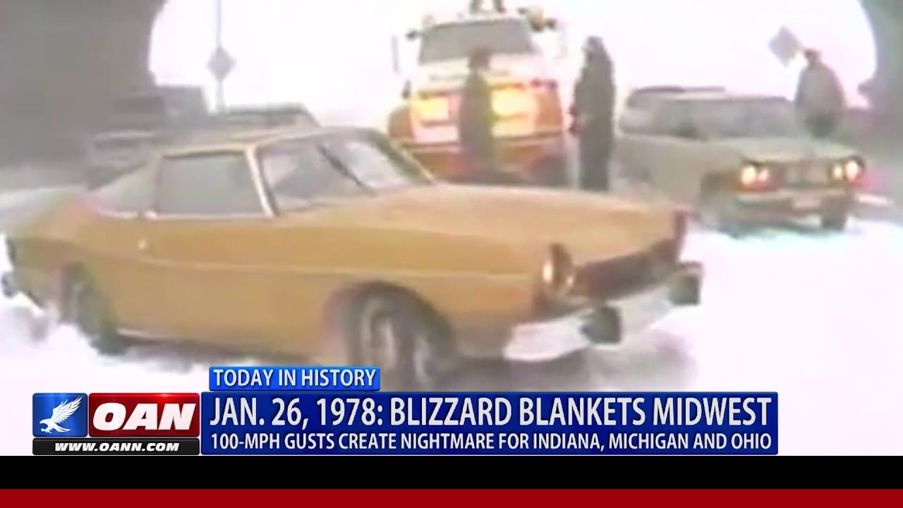 This Week In History The Great Blizzard Of 1978 Youtube