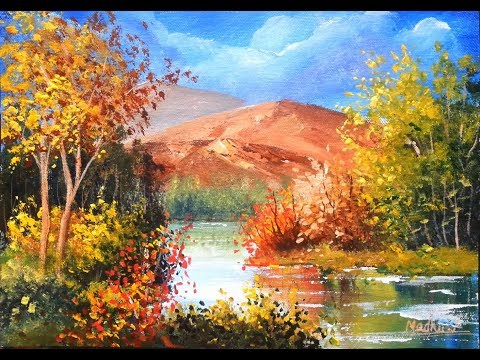 Greens – Acrylic Painting Tutorial