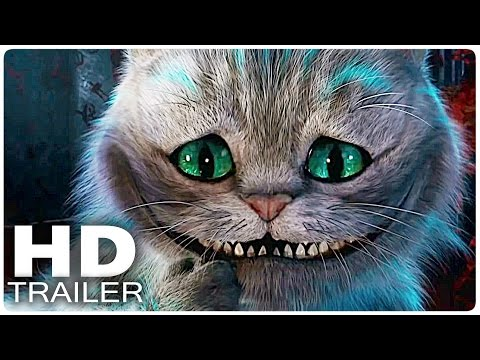 ALICE IN WONDERLAND 2: Through the Looking Glass All Trailer + Clips   Disney Movie 2016