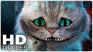 ALICE IN WONDERLAND 2: Through the Looking Glass All Trailer + Clips | Disney Movie 2016