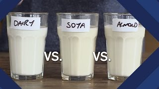Are Milk Substitutes Healthier Than Cow