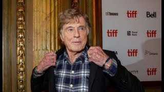 Robert Redford presentó 'The Old Man & The Gun' su despedida del cine