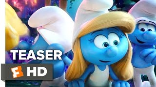 Smurfs: The Lost Village Official International Trailer - Teaser (2017) - Animated Movie