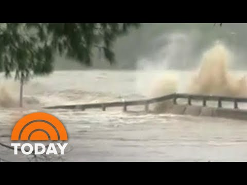 Catastrophic Flooding In Texas Causes Evacuations, Bridge Destruction | TODAY