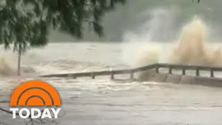 Catastrophic Flooding In Texas Causes Evacuations, Bridge Destruction | TODAY