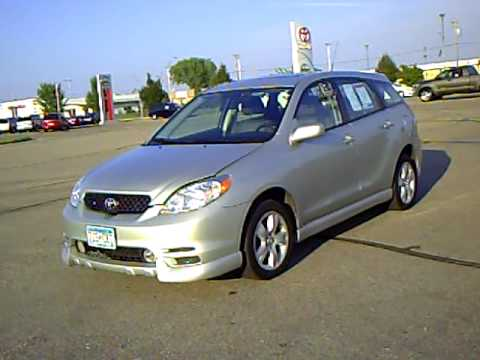 2003 toyota matrix xr 4wd youtube. Black Bedroom Furniture Sets. Home Design Ideas