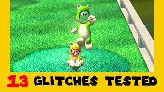 13 Old Glitches Tested in Super Mario 3D World + Bowser's Fury (Part 1)