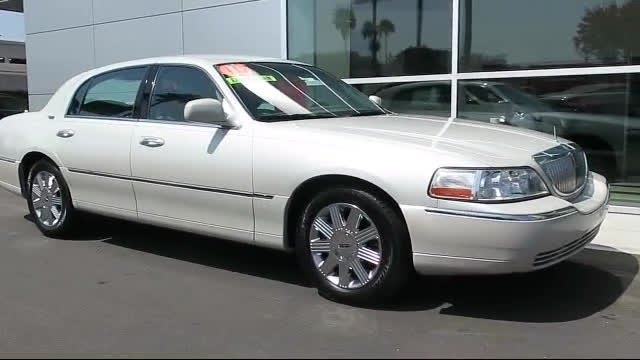 2005 Lincoln Town Car Signature Limited Glendale Burbank Pasadena Los Angeles Covina