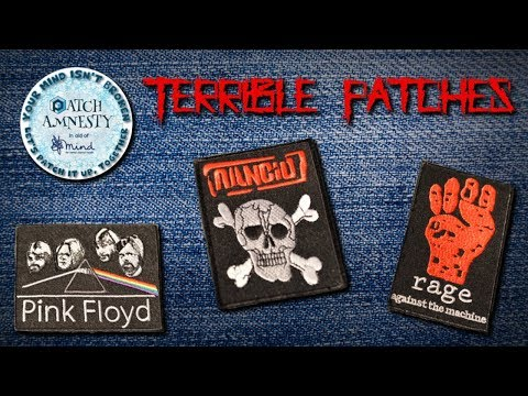 Terrible Band Patches 10 - Patch Amnesty Special