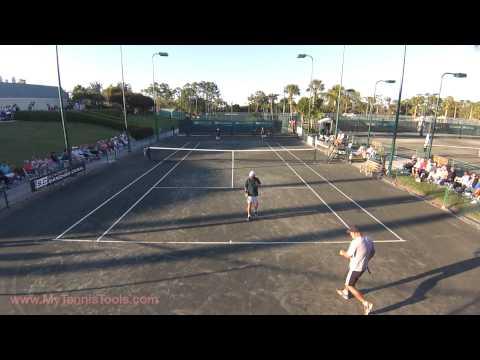 Sanchez-Casal Exhibition Match at  Naples Bath and Tennis Club, Naples, Florida