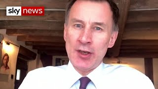COVID-19: 'Vaccine nationalism would be a real mistake' - Jeremy Hunt