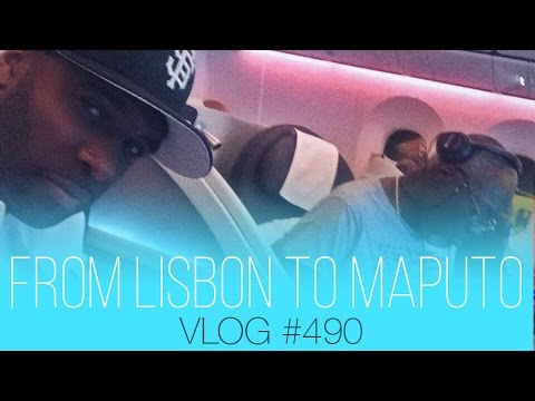 From Lisbon to Maputo via Paris on Qatar airways Business | vlog #490
