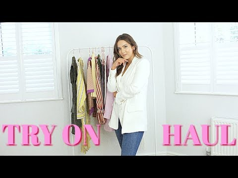SUPAAA CHATTY TRY ON HAUL!!! Zara, H&M, Bershka, & Other Stories, ASOS & PLT woooo