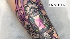 Crystal And Gemstone Tattoos