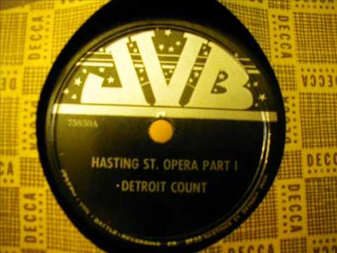 Detroit Count  Hasting ST Opera Part 1    JVB