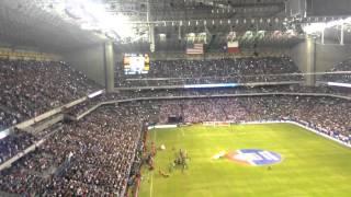USA vs México alamodome 2-0 #MexicanNationalAnthem