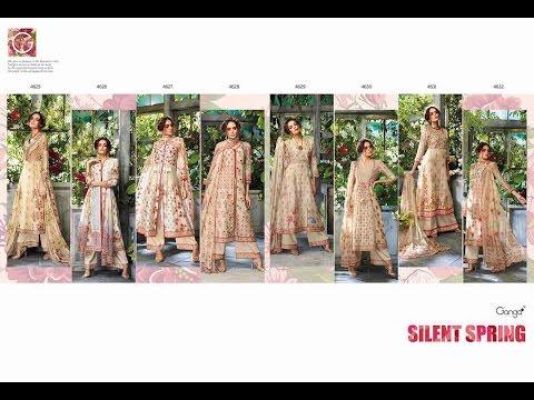 Latest Indian Dresses Collections 2017 || Ganga Fashions Pvt Ltd || GANGA SLIENT SPRING