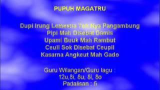 Lagu Sunda dengan Lirik | PUPUH MAGATRU