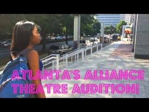 Atlanta's Alliance Theatre Audition!