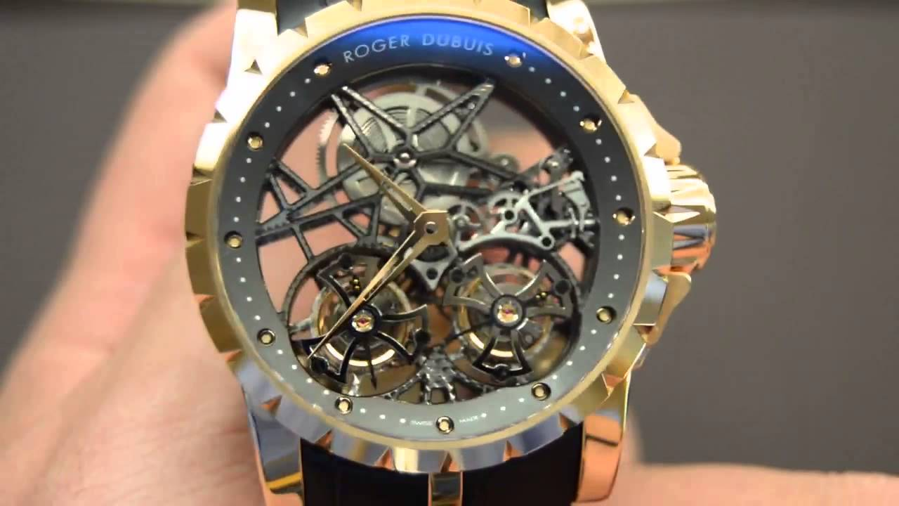 Roger Dubuis Pulsion Chronograph Luxury Watch Review - YouTube