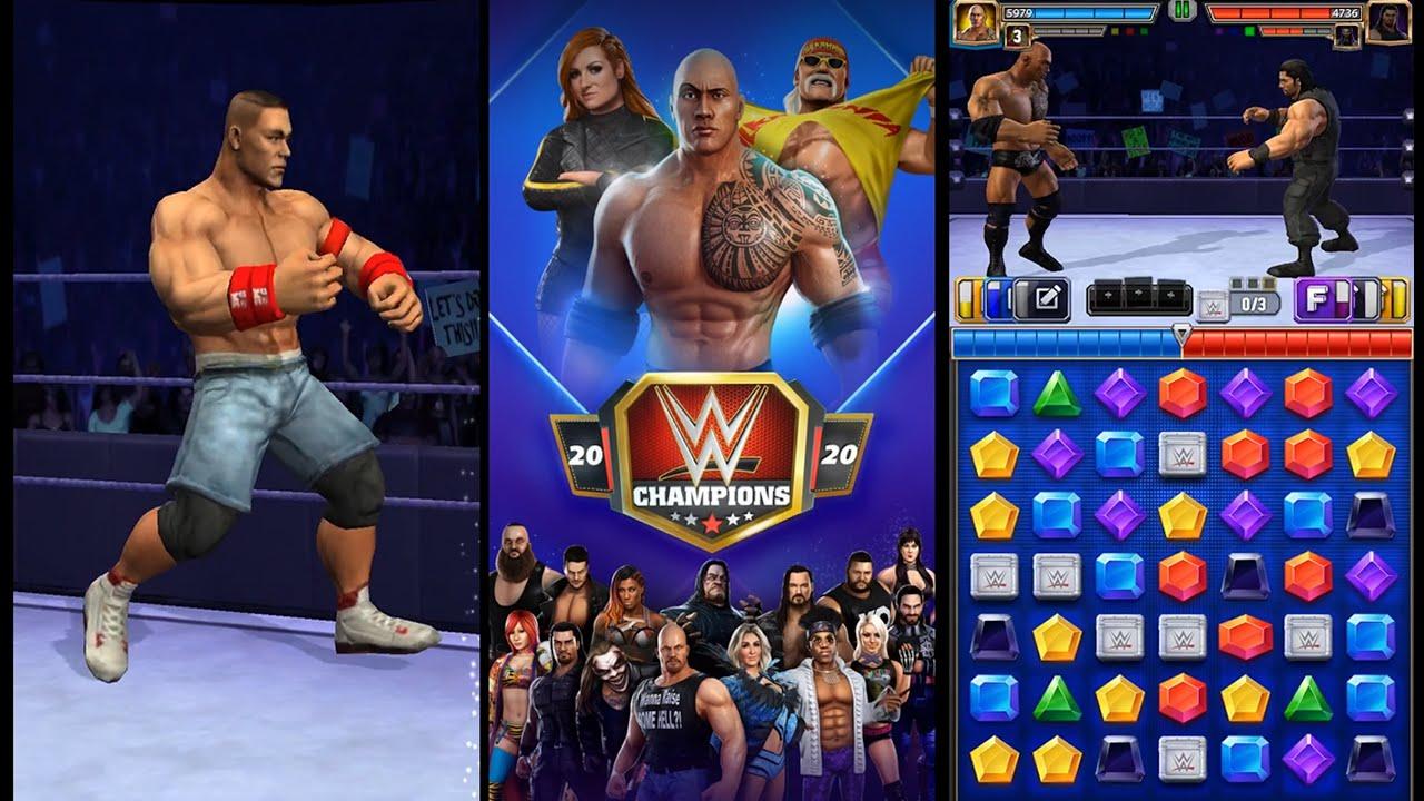 WWE Champion 2020 - Walkthrough [Gameplay] Juego Gratos Español - YouTube